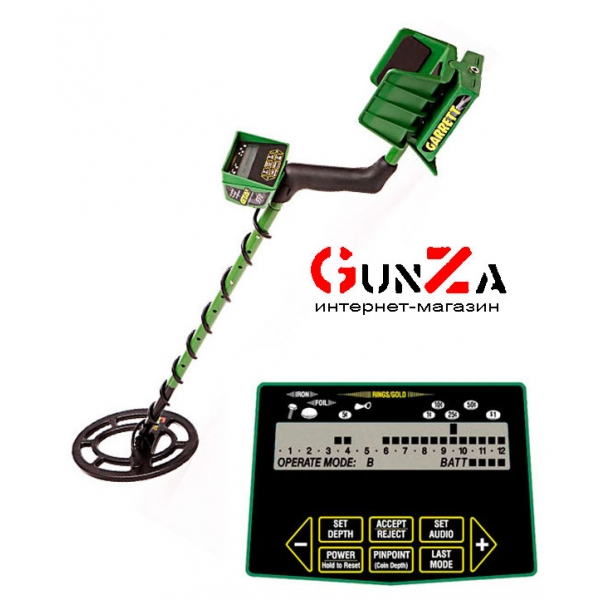 Металлоискатель garrett gtax-550.