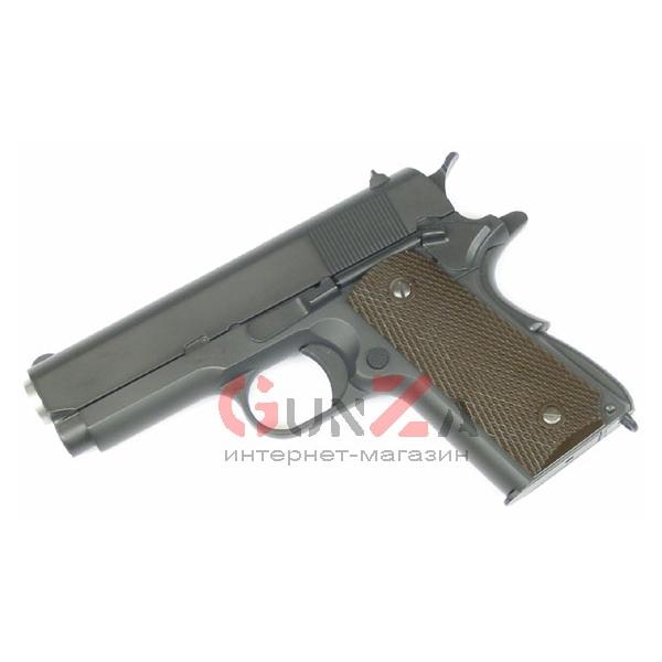 Страйкбольный пистолет colt 1911 we